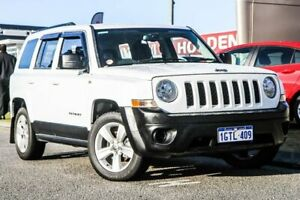 2014 Jeep Patriot MK MY14 Sport 4x2 White 6 Speed Sports Automatic Wagon Rockingham Rockingham Area Preview