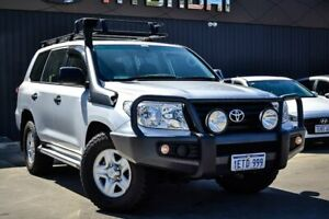 2015 Toyota Landcruiser VDJ200R MY13 GX Silver 6 Speed Sports Automatic Wagon Midvale Mundaring Area Preview