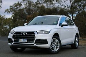 2019 Audi Q5 FY MY19 45 TFSI S Tronic Quattro Ultra design White 7 Speed