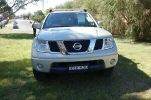 2010 Nissan Navara D40 ST Gold 5 Speed Automatic Utility East Maitland Maitland Area Preview