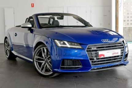 2015 Audi TT FV MY16 S S Tronic Quattro Blue 6 Speed Sports Automatic Dual  Clutch Roadster