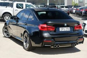 2016 BMW M3 F80 LCI M DCT Black 7 Speed Sports Automatic Dual Clutch Sedan