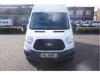 Ford Transit 350 - New Shape - Long Wheel Base - High Roof - Bluetooth, AUX/USB, Fitted Bulkhead