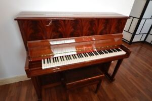 SCHULZE POLLMANN. UPRIGHT PIANO. NO TAX DEAL. MADE IN ITALY