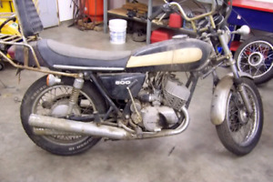 Kawasaki h1 500 triple project in any condition any year