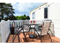 Private Static Caravan For Hire on Looe Bay Holiday Park in Cornwall and Dog Friendly