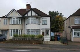 NEWLY REFURBISHED 4 BED SEMI HOUSE*NEW KITCHEN*NEW BATH to let in Harrow