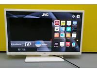 "JVC 24""SMART LED WITH DVD PLAYER model:LT-24C656"