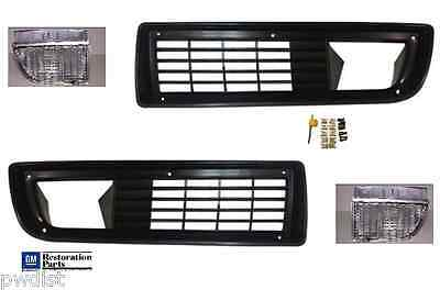 79, 80, 81 Trans Am Grille grill + Park Lamp Kit   with hardware