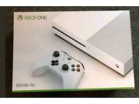Xbox One S 4K UHD 500 GB + FIFA 17 & GoW