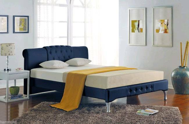 Italian design bed frames free assembly service and delivery | in ...