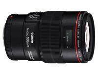 Canon 100mm f2.8 L like new