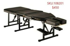 Deluxe portable massage Chiropractic table bed ONLY $450!!
