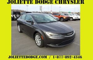 2016 Chrysler 200 LX GRIS BLUETOOTH LX DECOR