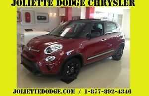 2015 FIAT 500L Trekking ROUGE TOIT CAMERA RECUL BLUETOOTH