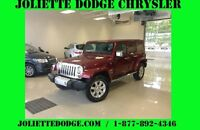 2013 Jeep Wrangler Unlimited SAHARA UNLIMITED ROUGE VUS UCONNECT