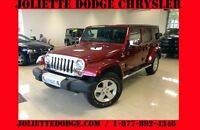 2011 Jeep Wrangler Unlimited SAHARA ROUGE VUS 4X4 UNLIMITED 2 TO