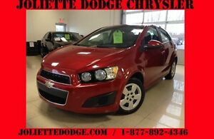 2013 Chevrolet Sonic LS ROUGE BLUETOOTH AC AUTO
