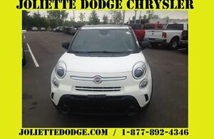 2015 FIAT 500L BLANC TOIT CAMERA RECUL BLUETOOTH