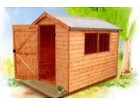 NEW 8 x 6 Shed in stock NOW
