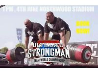 2 Ultimate Strongman Championship Sport Tickets