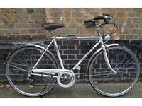 French vintage road bike PEUGEOT frame size 22inch PERFECT LIKE NEW - 5 speed, serviced WARRANTY