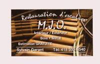 restauration d'escaliers M.J.O