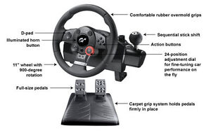 Logitech Driving Force GT Racing Wheel PC/PS3/PS2 $60obo