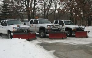 **snow Removal & salting services** servicing the Durham area!