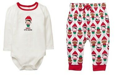 NWT Gymboree North Pole Party Christmas Elf Santa's Helper Outfit Baby Girl - Elf Outfit Baby