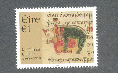 Ireland-Uilleann Pipes-Music mnh 2018 for sale  Montgomery