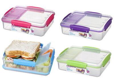 Sistema SNACK ATTACK Vesperbox Lunchbox Frühstücksdose Lunchdose Sandwichbox NEU