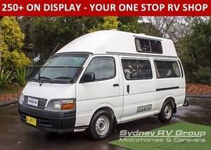 U3235 Toyota Hiace Campervan, Side & Rear Access, Spacious Layout Penrith Penrith Area Preview