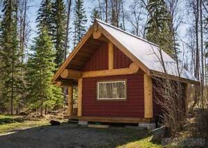 16x20 Post and Beam Cabin
