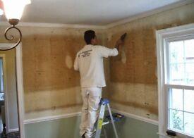 wallpaper stripping