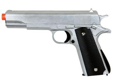 M1911 Replica Spring Pistol Full Size Metal Airsoft Hand Gun UK Arms G13S