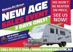 A30525 New Age Manta Ray 19BC Family Van with Triple Bunks Penrith Penrith Area Preview