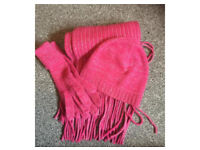Next hat, scarf & gloves set