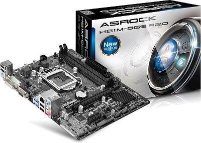 ASRock H81M-DGS R2.0 - mATX Motherboard for Intel Socket 1150 CPUs