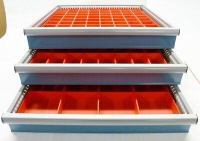 112pc Drawer Organizer Storage Boxes Toolbox Organizer Dividers fit Lista Vidmar