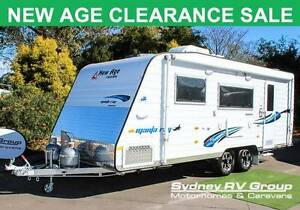 A30545 DEMO MODEL New Age Manta Ray 19E with Twin Single Beds Penrith Penrith Area Preview