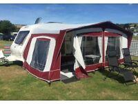 Bradcott Caravan Awning to fit a 530 caravan and annex