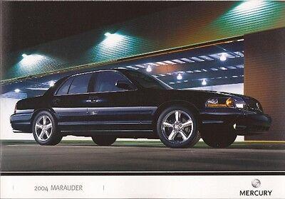 2004 04 Mercury  Marauder original sales brochure  MINT