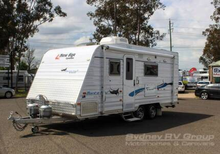 CU692 New Age 18ft Manta Ray with Island Bed & Ensuite, ACT QUICK Penrith Penrith Area Preview
