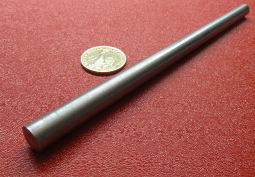 """Steel Taper Pins No. 8 .492 Large End x .346 Small End x 7.0"""" Long, 3 Pcs"""