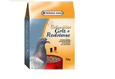 VERSELE LAGA GRIT & REDSTONE WITH ANISEED AROMA 20KG SUITABLE PIGEON/CHICKEN/POU