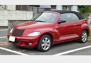 2005 PT Cruiser, Touring Edition, Turbo, red