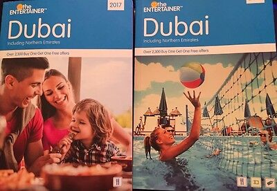 The Entertainer Dubai 2017 USED Books ** 12 **