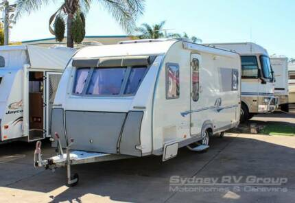 CU678 Adria Lightweight Caravan, Huge Front Lounge Penrith Penrith Area Preview