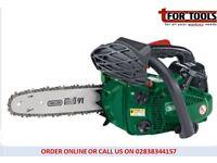 DRAPER 25.4CC 250MM ONE HANDED PETROL CHAINSAW W/OREGON® CHAIN & BAR